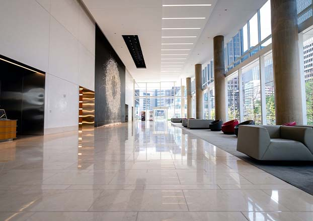 Commercial Cleaning - Lobby | Perfect Cleaners Janitorial Services, Inc.