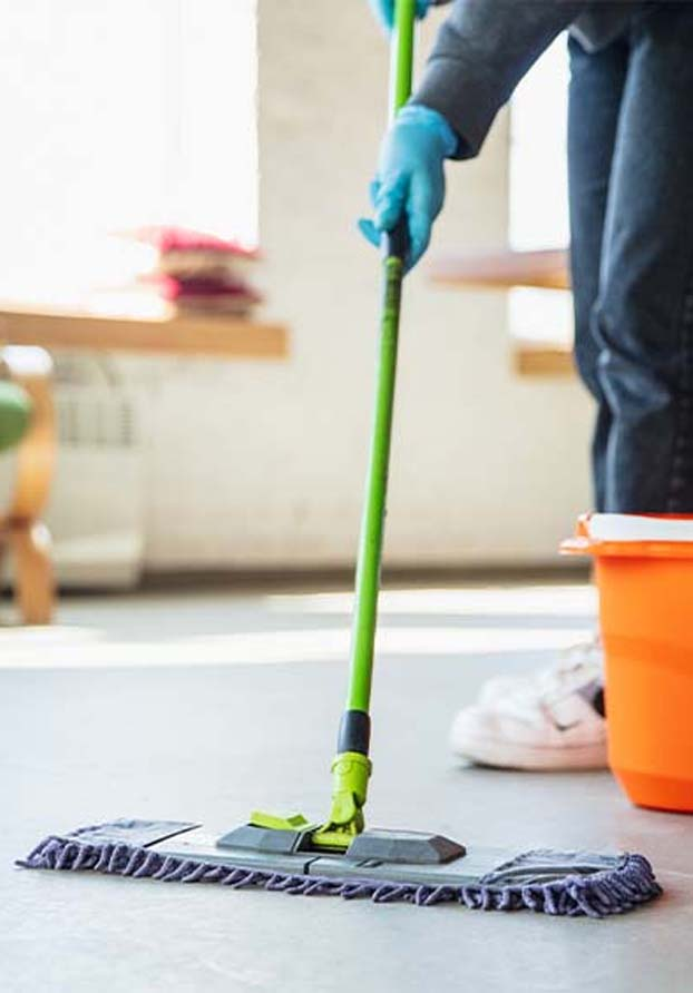 Commercial Cleaning - Mopping | Perfect Cleaners Janitorial Services, Inc.