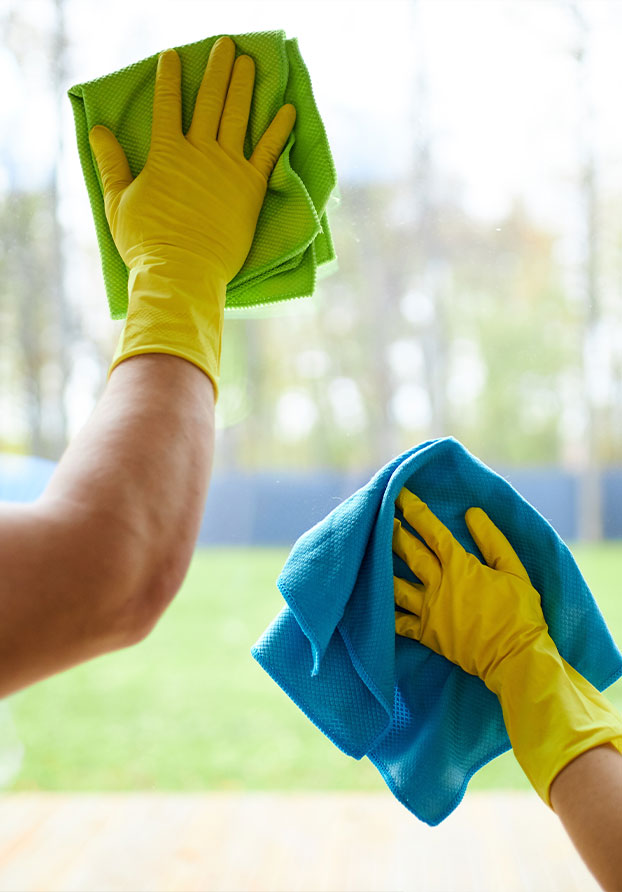 Cleaning a Window | Perfect Cleaners Janitorial Services, Inc.