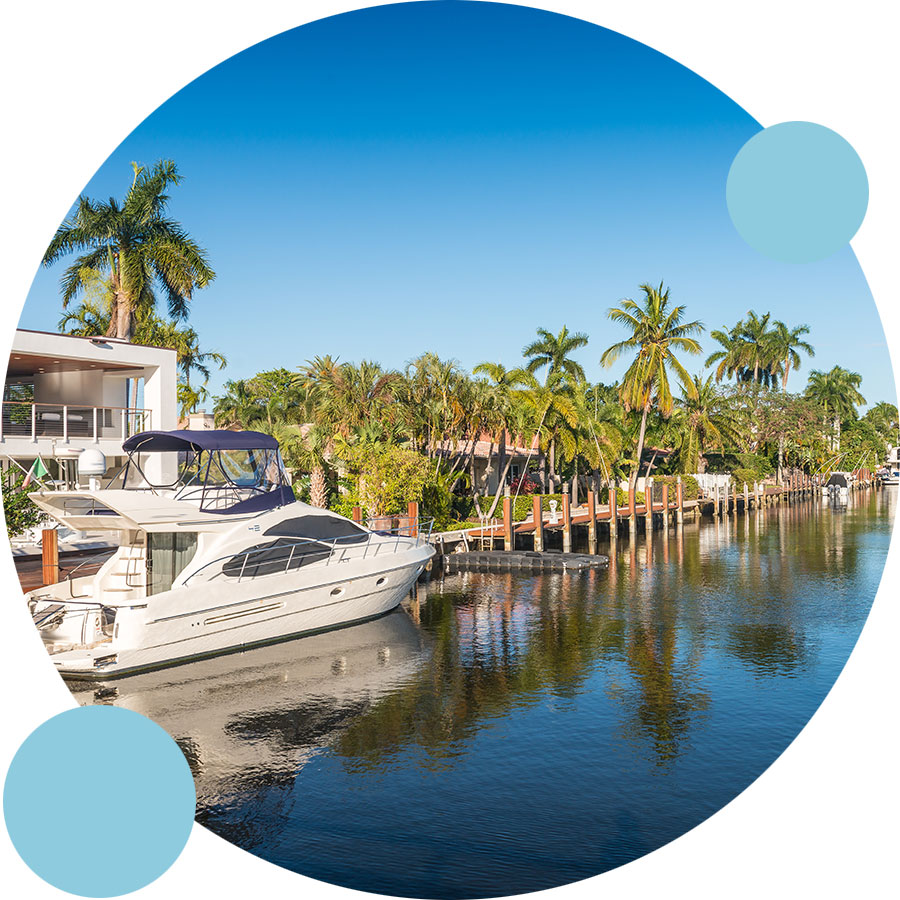 Home Watch Bubble - Naples, Florida Canals   Perfect Cleaners Janitorial Services, Inc.